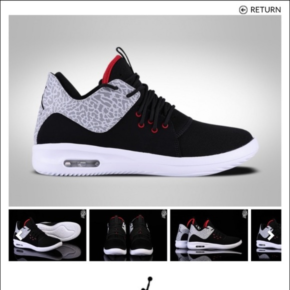 dc854c06b06c10 Men s Nike Air Jordan First Class Black Cement. M 5c38009003087cdafe5ce18f
